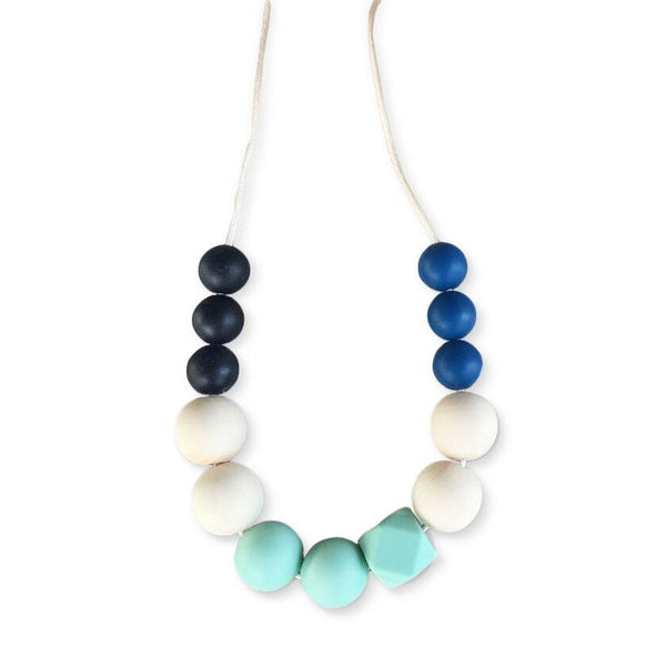 One.Chew.Three - Mia Necklace - Mint
