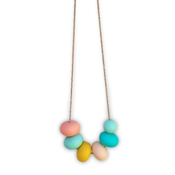 One.Chew.Three - Olivia Necklace - Mint