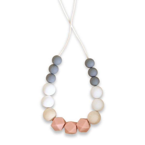 One.Chew.Three - Poppy Necklace - Pink
