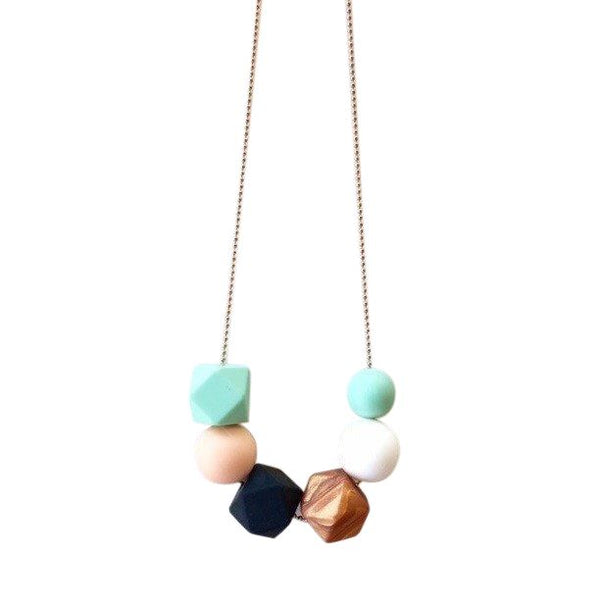 One.Chew.Three - Lexi Necklace - Mint