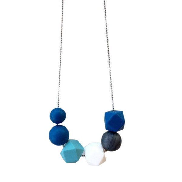 One.Chew.Three - Lexi Necklace - Navy