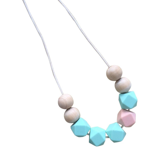 One.Chew.Three - Stella Necklace - Mint