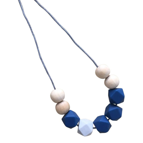 One.Chew.Three - Stella Necklace - Navy