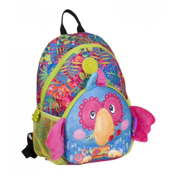 Okiedog Wild Pack Junior Backpack - Parrot - toybox.ae