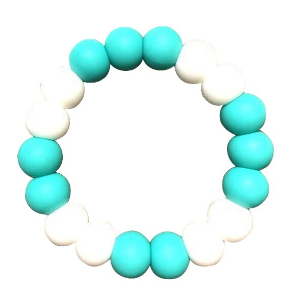 Desert Chomps Solo Summer Time Teether - Aqua Marine - toybox.ae