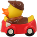 Car Driver Duck - design by LILALU - toybox.ae