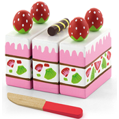 Playing food - Strawberry Cake - toybox.ae