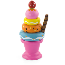 Playing food - Sundae-Pink - toybox.ae