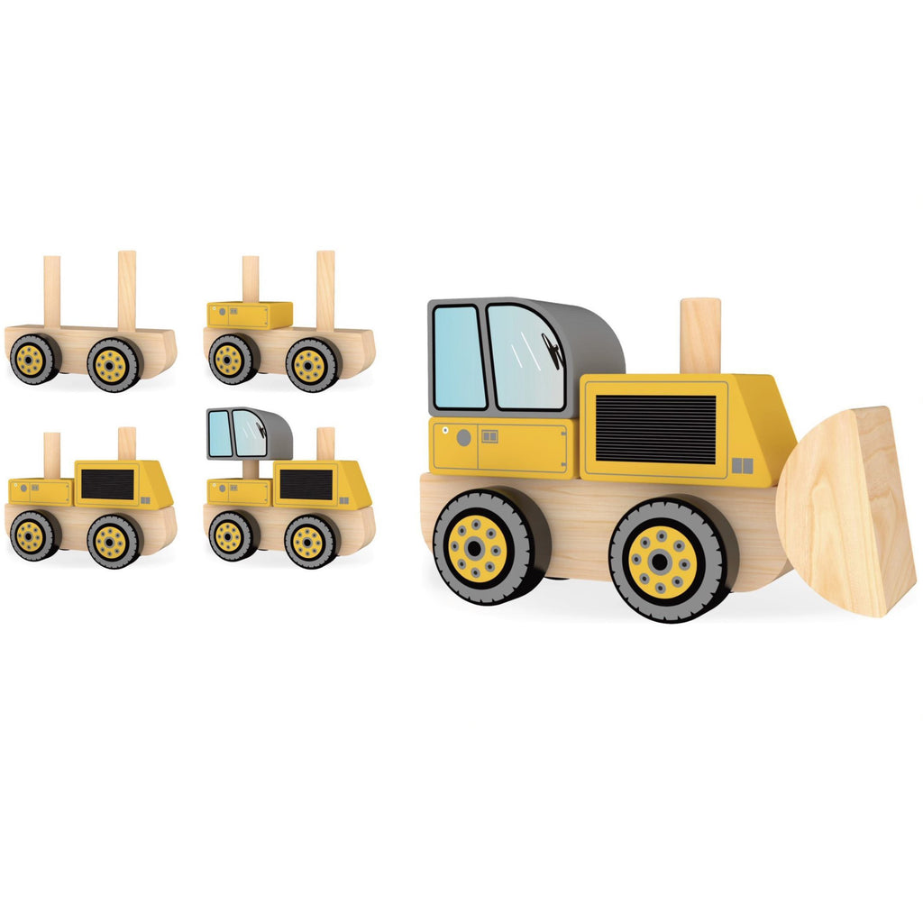 J'adore Bulldozer Stacking Truck