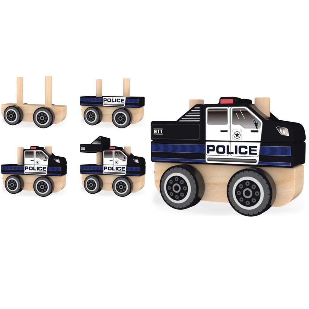 J'adore Police Truck