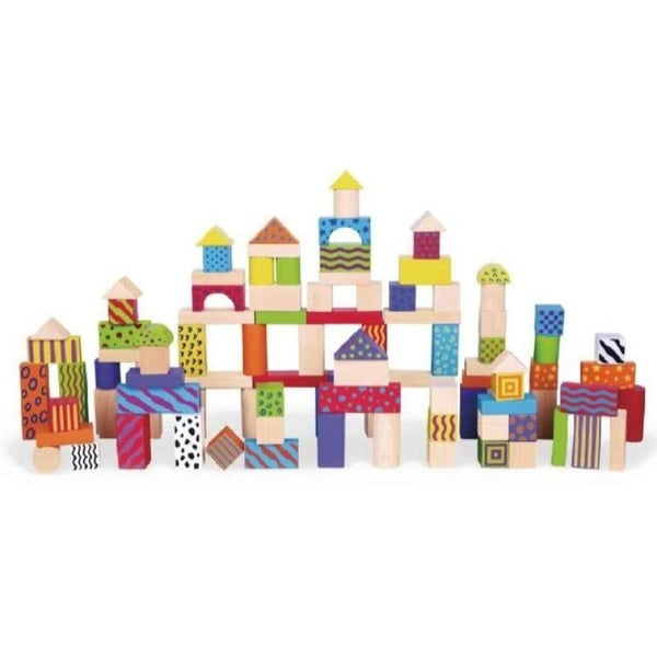 100pcs Colorful Block Set - toybox.ae