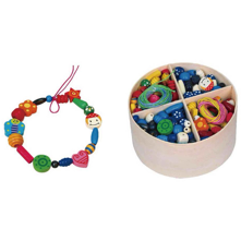 Wooden Beads (260g) - toybox.ae