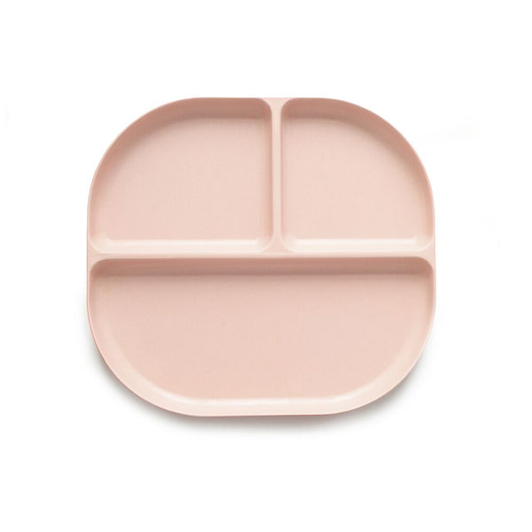 Ekobo Bambino Divided Tray - Blush - toybox.ae