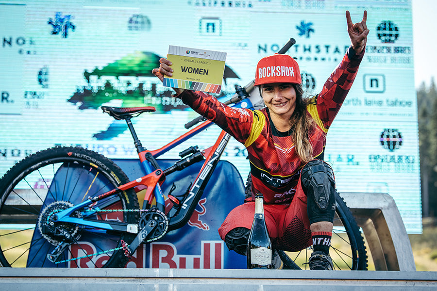 Isabeau Intense Cycles Carbine Mtb Podium Win