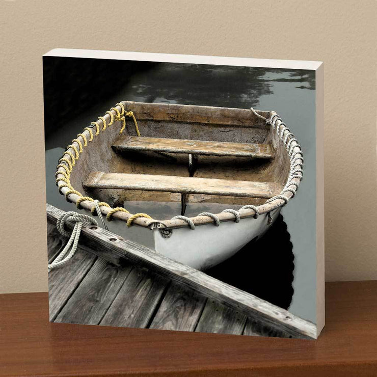 Rope-Wrapped Dinghy