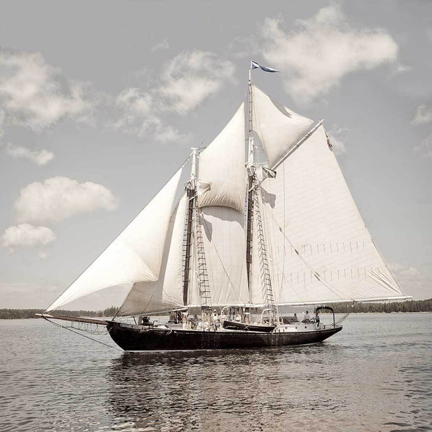 "The Great Schooner ""Nathaniel Bowditch"""