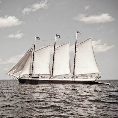 "The Great Schooner ""Victory Chimes"""