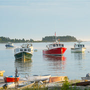 Maine Lobster Boats