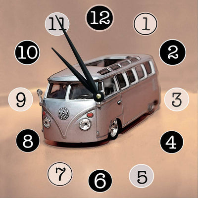 Vintage VW Bus Clock