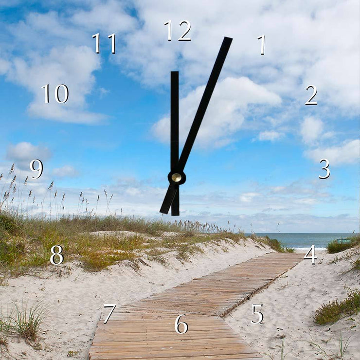 Beach Walk Clock