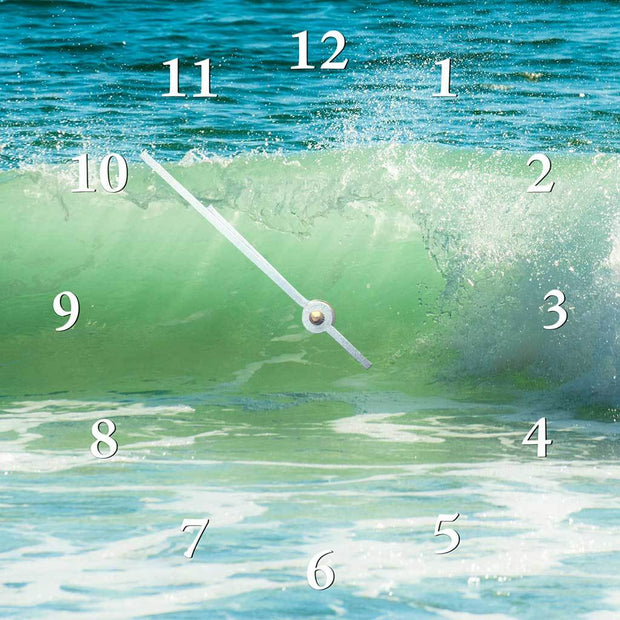 Green Wave Clock