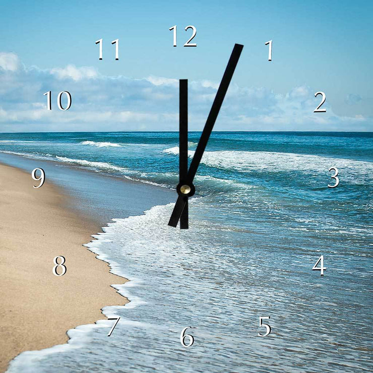 Blue Surf Clock