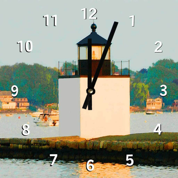 Derby Wharf Light Clock