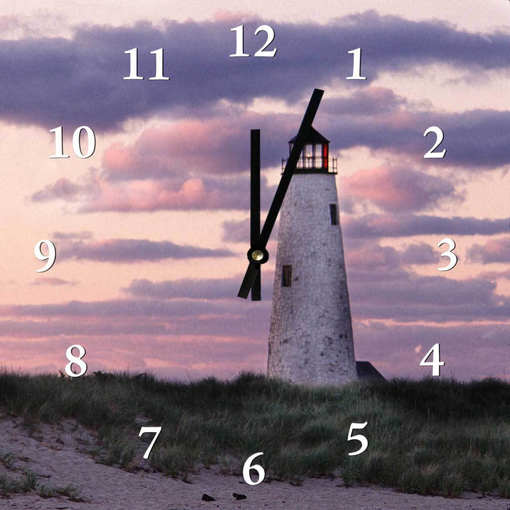 Great Point Light Clock