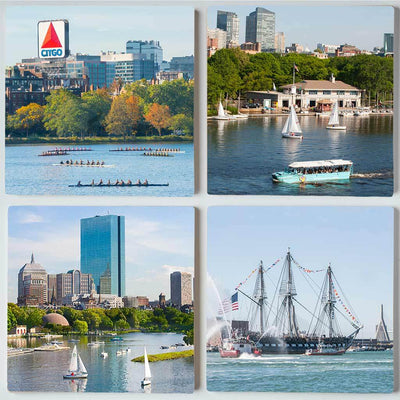Boston Boats Coaster Set