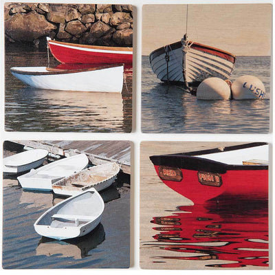 Classic Dinghy Coaster Set