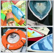 Boats & Buoys II Coaster Set