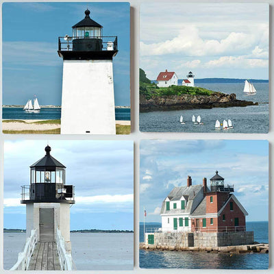 Lighthouses Coaster Set