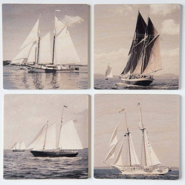Schooners I Coaster Set
