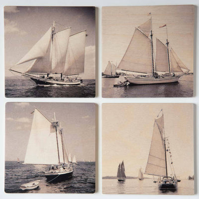 Schooners II Coaster Set