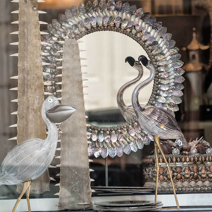 French Glass Birds