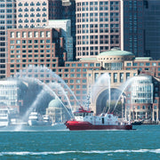 Boston Fireboat Plumes