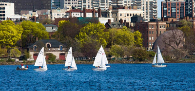 Sailing the Back Bay Lagoon