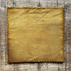 A True-to-Color Swatch, Taken Under Natural Sunlight on a 100% Color Sample Square of Dharma Trading Co. Procion Fiber Reactive Dye in Color Amber Waves