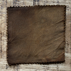 A True-to-Color Swatch, Taken Under Natural Sunlight on a 100% Color Sample Square of Dharma Trading Co. Procion Fiber Reactive Dye in Color Bronze