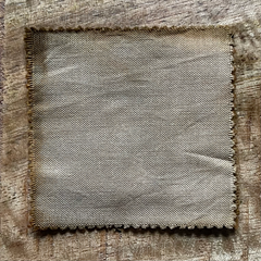 A True-to-Color Swatch, Taken Under Natural Sunlight on a 100% Color Sample Square of Dharma Trading Co. Procion Fiber Reactive Dye in Color Camel