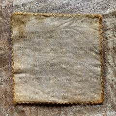 A True-to-Color Swatch, Taken Under Natural Sunlight on a 100% Color Sample Square of Dharma Trading Co. Procion Fiber Reactive Dye in Color Chamois