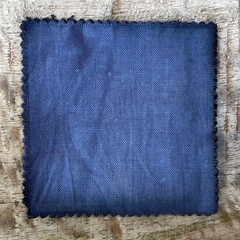 A True-to-Color Swatch, Taken Under Natural Sunlight on a 100% Color Sample Square of Dharma Trading Co. Procion Fiber Reactive Dye in Color Charcoal Gray