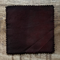 A True-to-Color Swatch, Taken Under Natural Sunlight on a 100% Color Sample Square of Dharma Trading Co. Procion Fiber Reactive Dye in Color Chocolate Brown