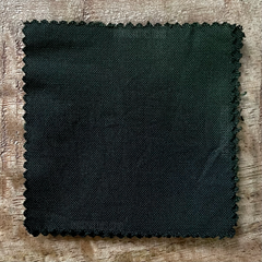 True-to-Color Swatch, Taken Under Natural Sunlight on a 100% Color Sample Square of Dharma Trading Co. Procion Fiber Reactive Dye in Color Dark Green