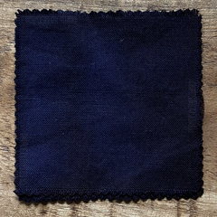 A True-to-Color Swatch, Taken Under Natural Sunlight on a 100% Color Sample Square of Dharma Trading Co. Procion Fiber Reactive Dye in Color Deep Space