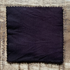 A True-to-Color Swatch, Taken Under Natural Sunlight on a 100% Color Sample Square of Dharma Trading Co. Procion Fiber Reactive Dye in Color Dutch Chocolate