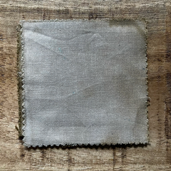 A True-to-Color Swatch, Taken Under Natural Sunlight on a 100% Color Sample Square of Dharma Trading Co. Procion Fiber Reactive Dye in Color Ecru