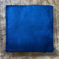 A True-to-Color Swatch, Taken Under Natural Sunlight on a 100% Color Sample Square of Dharma Trading Co. Procion Fiber Reactive Dye in Discontinued, Special Order Only Color Faded Denim