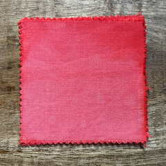 True-to-Color Swatch in Natural Light of Dharma Trading Co. Procion Fiber Reactive Dye in Color Rosebud