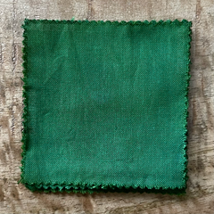 True-to-Color Swatch, Taken Under Natural Sunlight on a 100% Color Sample Square of Dharma Trading Co. Procion Fiber Reactive Dye in Color Herbaceous